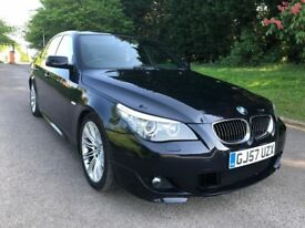 BMW 5 SERIES 525d M SPORT - LCI FACELIFT - 12 MONTHS MOT - SERVICE HISTORY - DRIVES GOOD