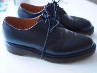 Dr Martens 1461 PLAIN WELT SMOOTH BLACK UK 5