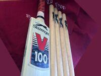 Slazenger V100 1 x Cricket Set 1 x Bat 4 x Wickets 1 x Ball In Original Carry Bag