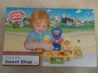 BRAND NEW - Chad Valley Pick & Mix Sweet Shop - Age 3+ -Sweets included - Collect PE27