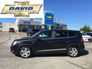 2012 Chevrolet Orlando LTZ/LEATHER/SUNROOF/HEAT SEATS, LOCAL TRA