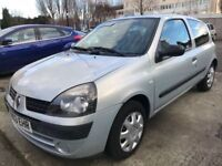 RENAULT CLIO EXPRESSION 1.2/ MOT /GREAT CONDITION/CHEAP TO RUN/£770