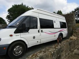 Professional fitted extra LWB, High roofed Campervan