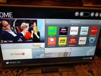 "42"" LG SMART WIFI FHD LED TV CAN DELIVER"