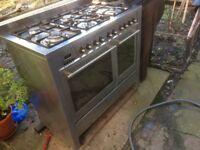 caple cr1200/1 range cooker