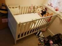 Mamas & Papas cot bed and changing unit