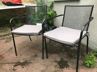 Set of 4 Garden chairs £40