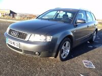 LHD 2005 Audi A4 Avant,1.9TDI,Diesel,6 Manual,5 door Combi Estate.