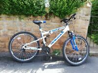 NEW SHOP SOILED BOSS ASTRO DUAL SUSPENSION MTB