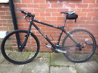 Orange P7 mountain bike.