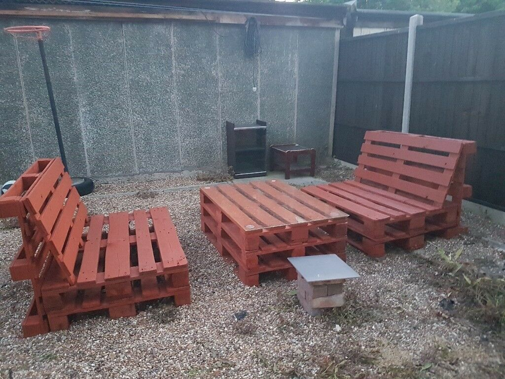 Used Pallet Garden Furniture In Kingsbury London Gumtree