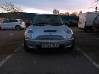 MINI Hatch 1.6 Cooper S 3dr£2,495 p/x welcome 12months MOT & FSH 2003 (53 reg), Hatchback