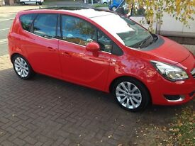 2015 65 plate Meriva Auto Diesel TOP OF THE RANGE WITH ONLY 5,000 MILES - MINT CONDITION