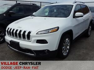 2016 Jeep Cherokee LIMITED V6, Leather, UConnect
