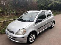 Toyota Yaris 1.3 5 DR *ONLY 70k Miles* Excellent Condition!! 1 Lady Owner!! 12 Months MOT!!
