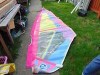 wind surfing sail