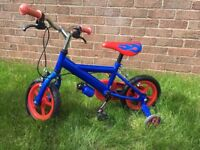 """Mothercare ELC flame rider kids first bike 12"""" used"""