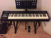 Roland RD-64 Digital Stage Piano Keyboard *Mint Condition*