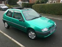 1998*CITROEN SAXO OPEN SCANDAL 1.0 PETROL*6 MONTHS MONTHS*BIG SUNROOF*SPARE KEY