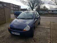 Ford KA 1.3, cheap for running.