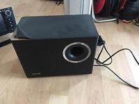 Vibe Optisound 5 TV subwoofer speaker, sound bar alternative