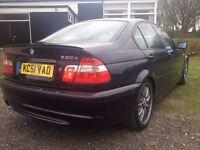 2002 BMW 330d M sport MANUAL Low Miles amazing condition