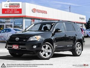 2010 Toyota RAV4 Sport V6 One Owner, No Accidents, Toyota Ser...