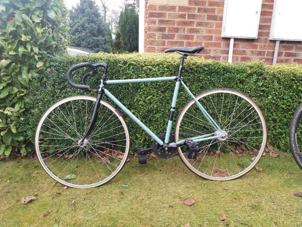 Fixed Gear Fixie Single Speed Road Bike For Sale Good Used