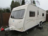 Bailey Senator Wyoming 2009 Series 6 Fixed Bed Twin Axle Touring Caravan + Isabella awning + more
