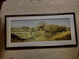 Framed Water Colour Print