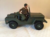 GI Joe and his jeep