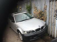 BMW 325 E46 face left all parts available