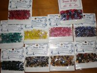 ASSORTED BEADS ALL NEW IN PACKETS