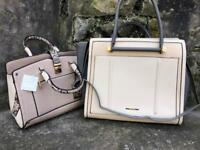 River island and new look bag