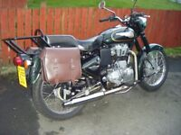 ROYAL ENFIELD 500 EFI ..IMMACULATE CONDITION..16 MTS OLD WITH EXTRAS
