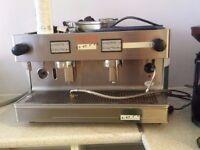 vistacreme nero 2 commercial coffee machine