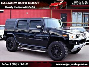 2008 Hummer H2 4WD/6.2L/3RD ROW/LEATHER/SUNROOF