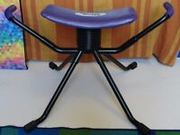 Exercise chair for back, abs and posture