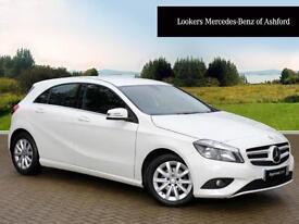 Mercedes-Benz A Class A180 CDI ECO SE (white) 2014-08-14
