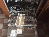 Integral dishwasher