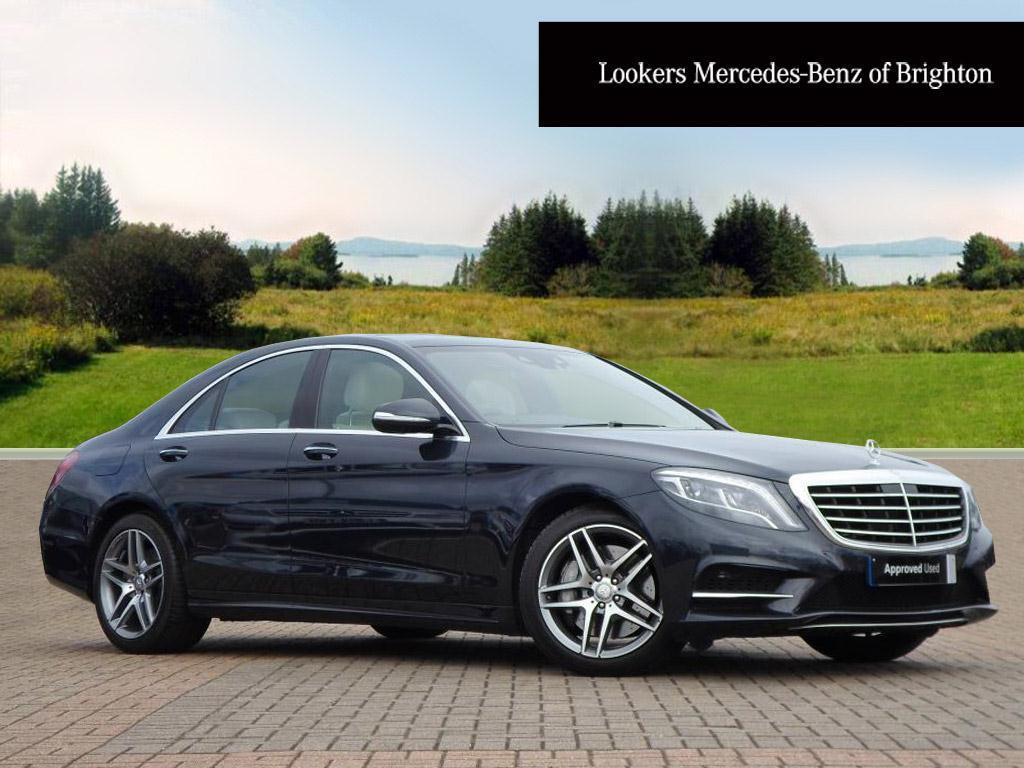 Mercedes benz s class s350 bluetec amg line blue 2015 01 for Mercedes benz s350 bluetec