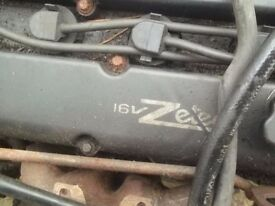 Ford Zetec 1.8 16v Black Top Engine