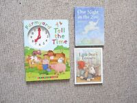 Toddler child books bundle: time counting
