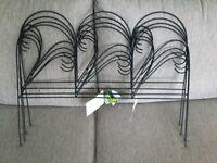 Brand new ornate wire edging