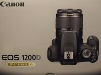 Cannon EOS 1200D with 12Gb memory. Prices can be negotiable