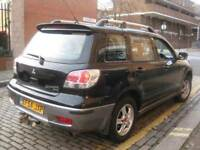 MITSUBISHI OUTLANDER 54 REG AUTOMATIC BI FUEL ≠≠≠ GAS LPG CONVERTED ≠≠ 5 DOOR 4X4 JEEP MPV HATCHBACK