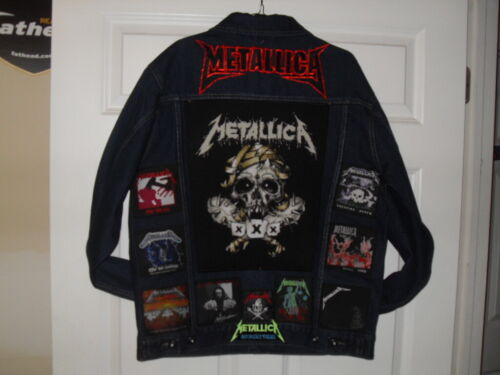 METALLICA Tribute Jacket--Large...... ****New Listing 24 April 2019 ***********