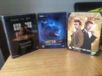 Dr who box set 1-3