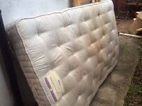 Double mattress (used) for free