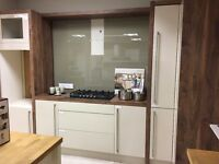 Ex-dislay kitchen cabinets. As new showroom display use only